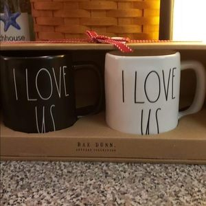 Rae Dunn I love you mugs